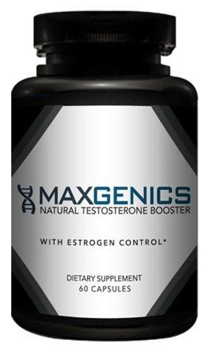 Maxgenics Natural Testosterone Booster