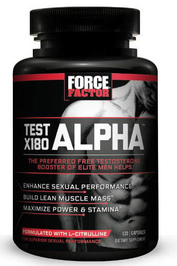 Force Factor Test X180 Alpha Review