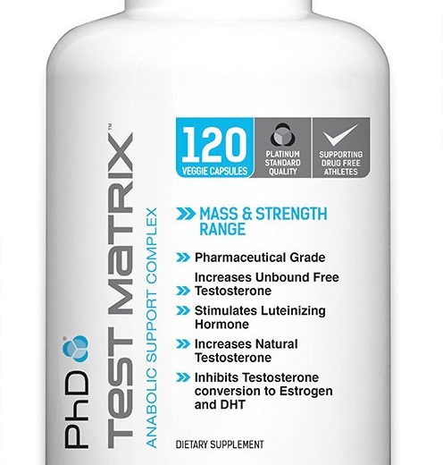 PhD Test Matrix: Testosterone Booster for Built and Health
