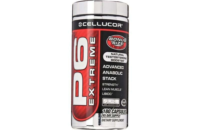 Cellucor P6 Extreme Natural Testosterone Booster