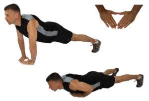 وضعية المثلث للتركيز علي العضلة ثلاثية الرؤوس العضدية